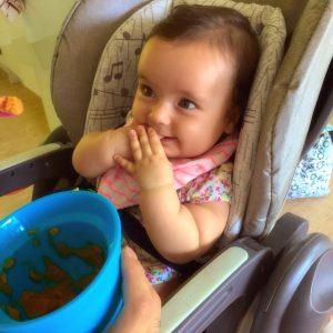 Feeding Isabella safely